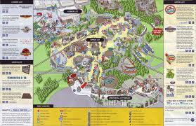 Universal Studios Hollywood map