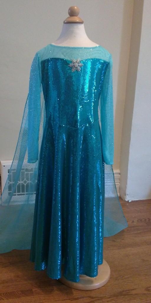 Elsa Frozen dress front