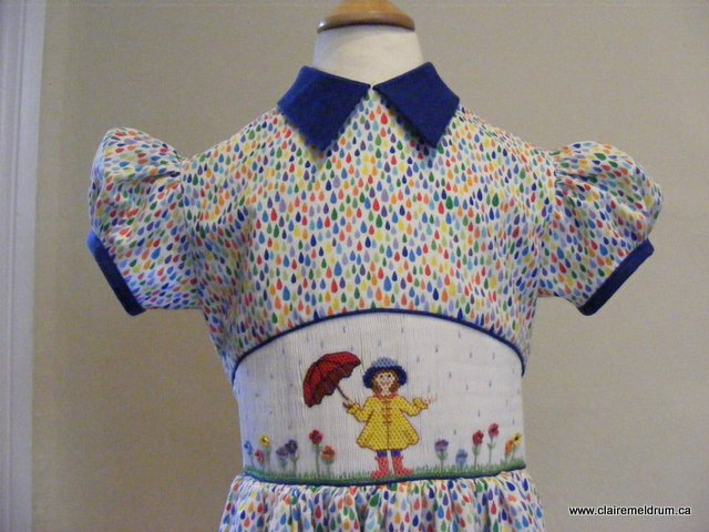 Picture Smocked Bodice