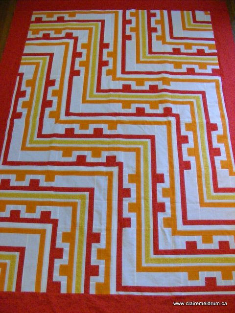 Shifting Gears quilt (2)