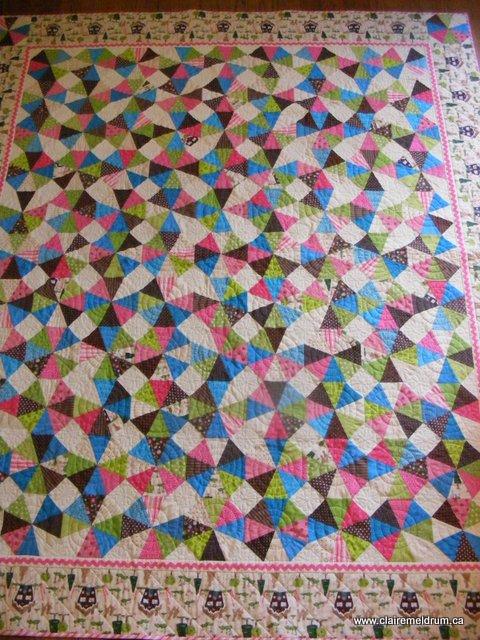 Shiny Brite quilt