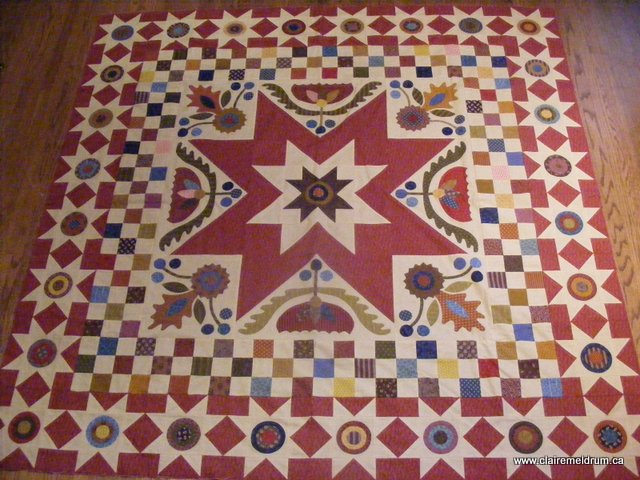 farm girl finery quilt top (2)