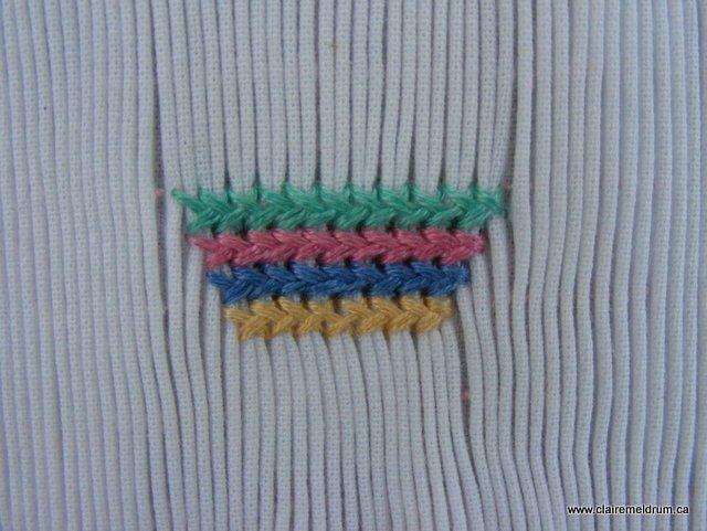 herringbone basket tutorial (10)