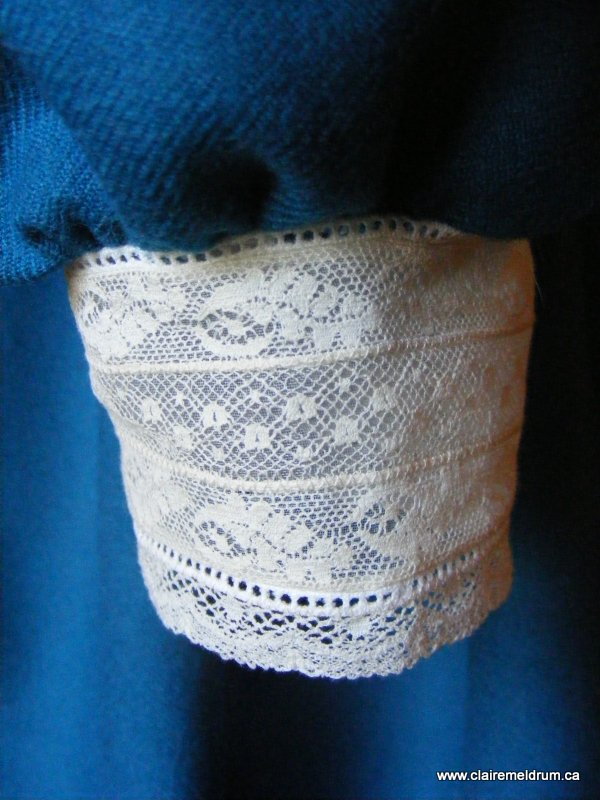 lace and wool smocked dress (11)