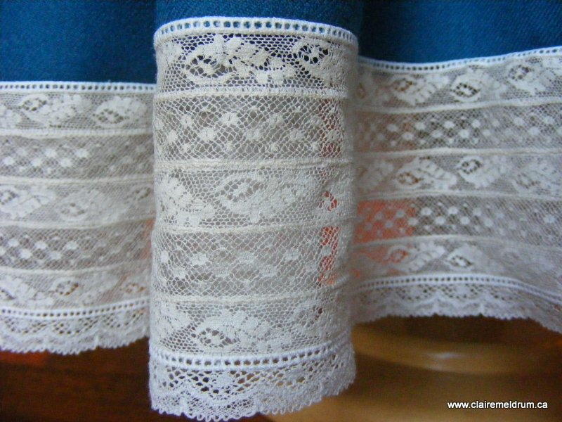 lace and wool smocked dress (4)