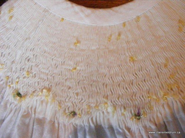 primrose bishop pleats with interfacing