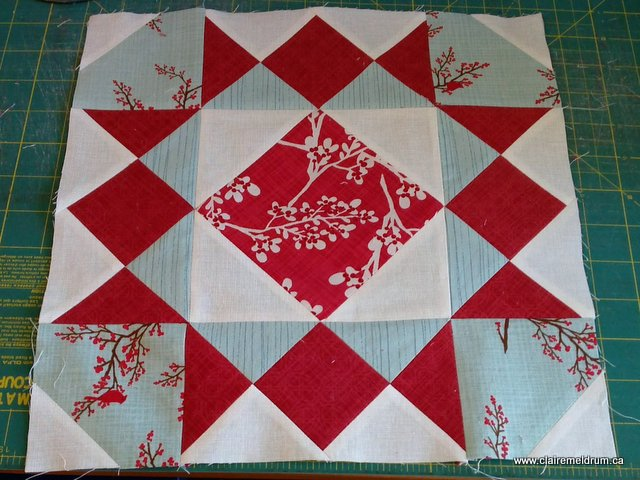 tangled stars quilt wip (2)