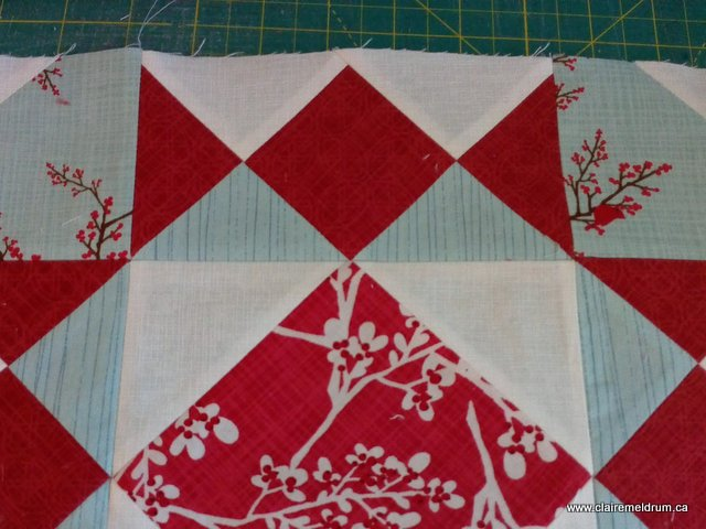 tangled stars quilt wip (3)