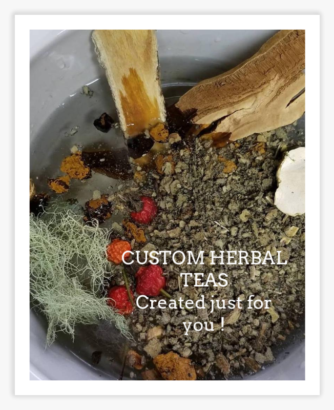 herbal tea custom