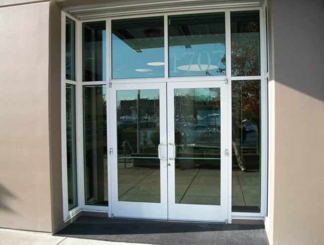 Commercial Store Doors and Glass Installation