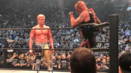 Dustin Rhodes and Cody AEW
