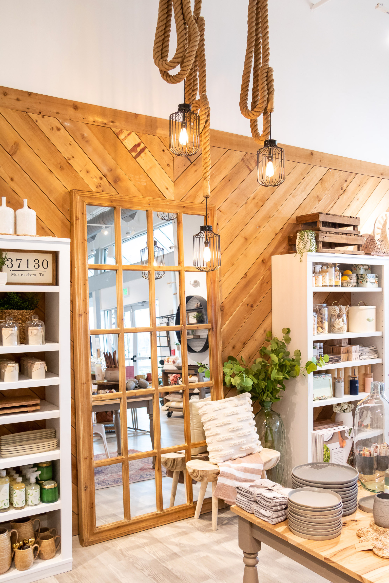 Home decor and gifts at Homegrown Marketplace