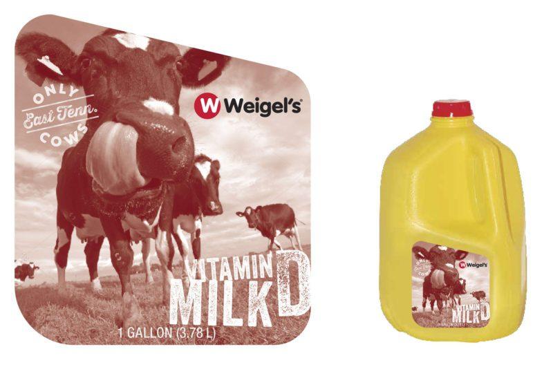 Weigels Milk Concept