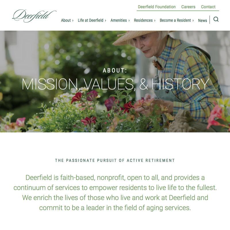 Deerfield Web