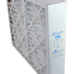 white box breathe rite disposable air filter