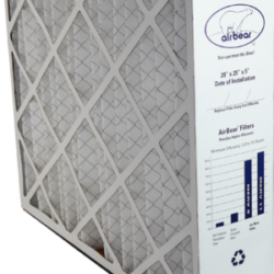 airbear 20 by 25 by 5 disposable air filter