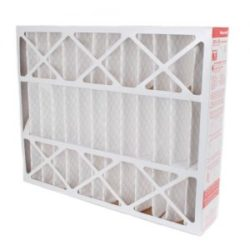 white disposable air filter
