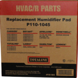 p1101045 hvac replacement humidifier pad