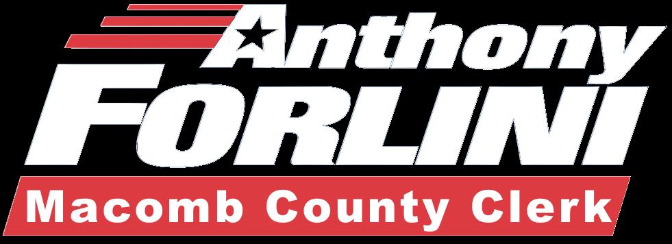 Anthony Forlini Macomb County Clerk