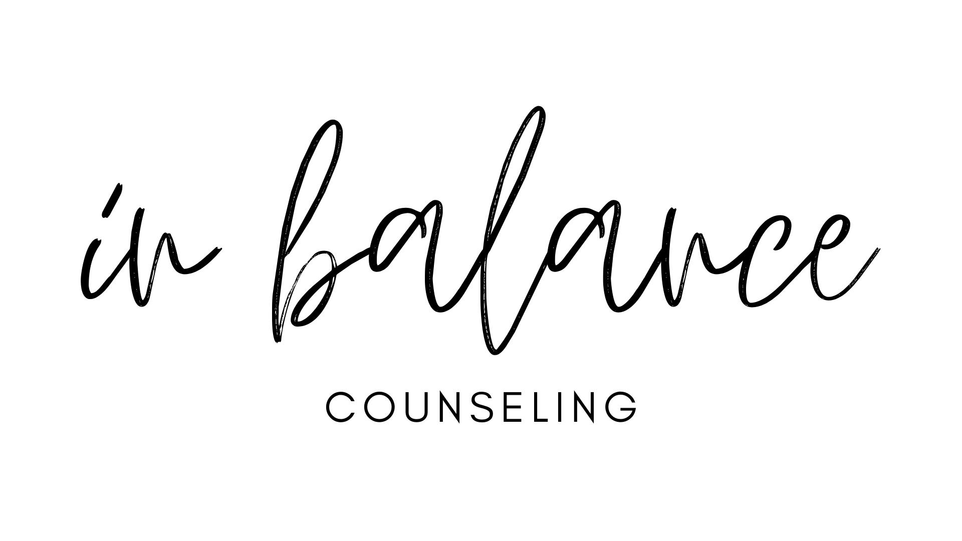 In Balance Counseling LLC