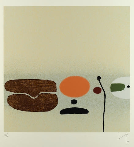 Victor Pasmore Points of Contact No 30