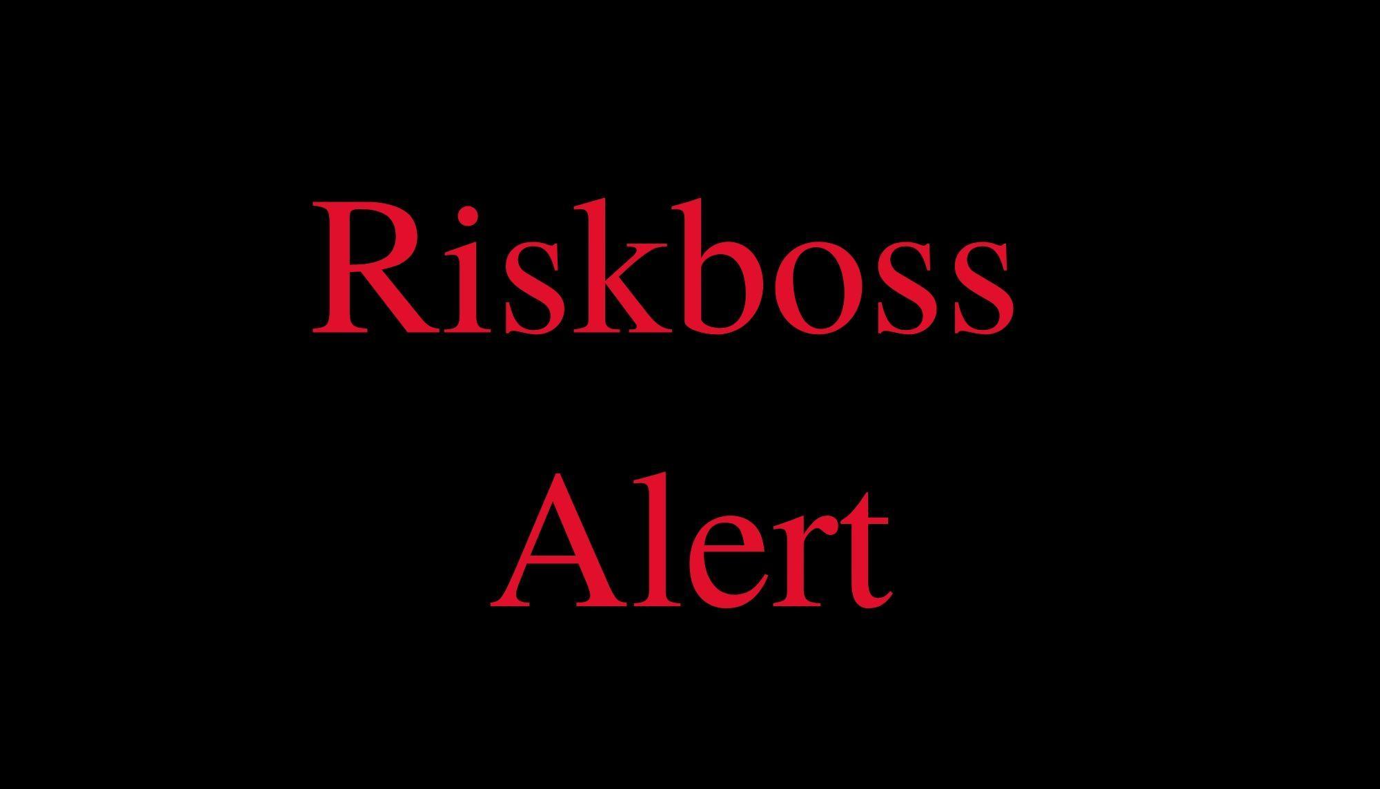 Riskboss Alert