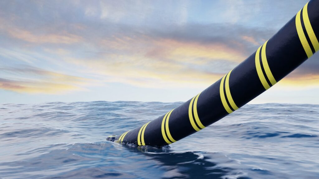 An alternative option to submarine power cables