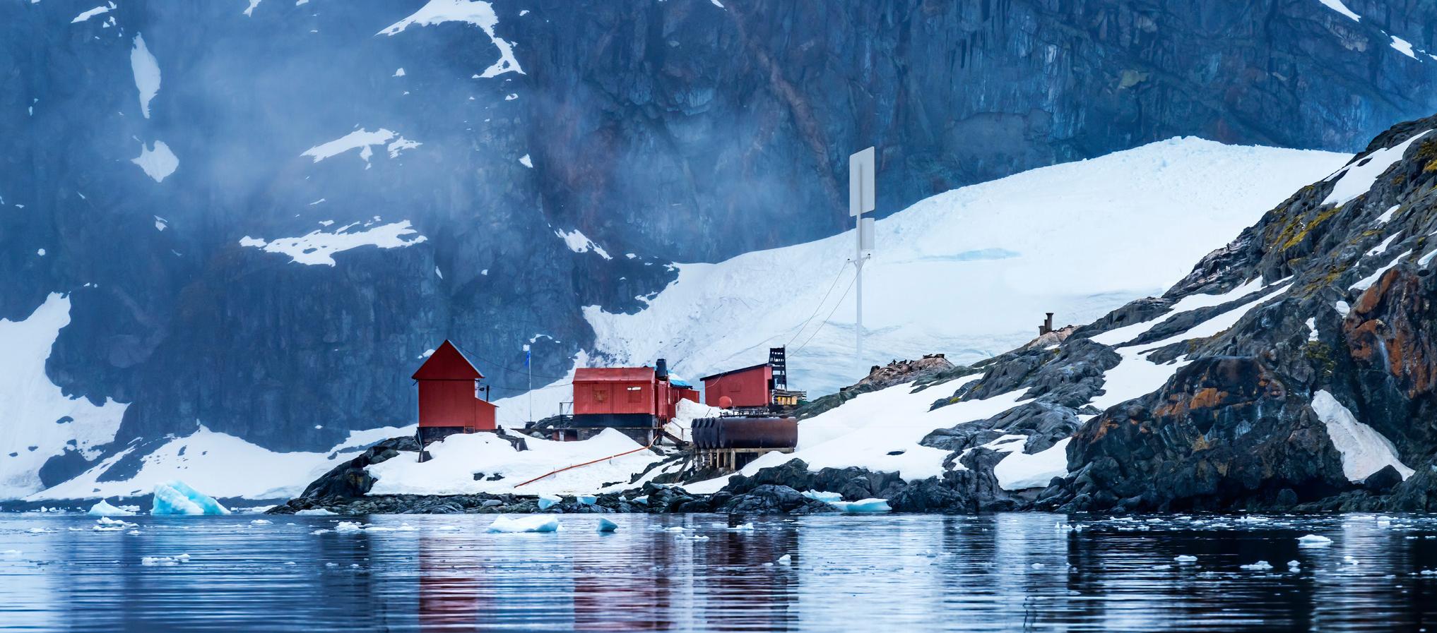 Emrod's wireless transmission antenna arctic station use case