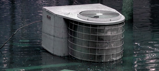 Flood Damaged Air Conditioners In Houston