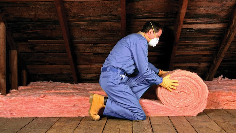 Attic Insulation in Houston TX
