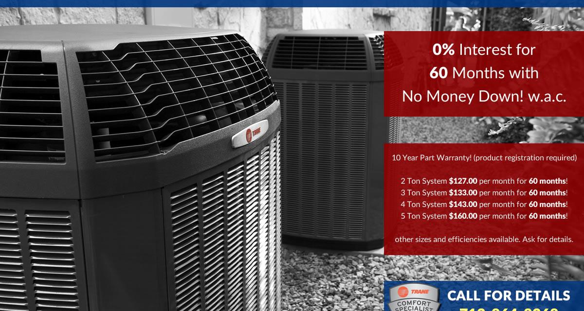 Trane HVAC Discounts in Houston