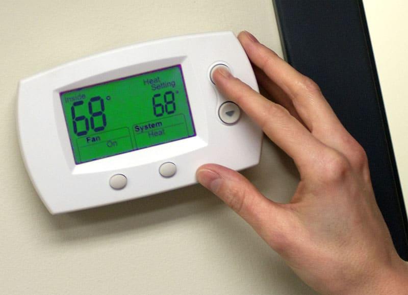 Average House Temperature in Spring TX