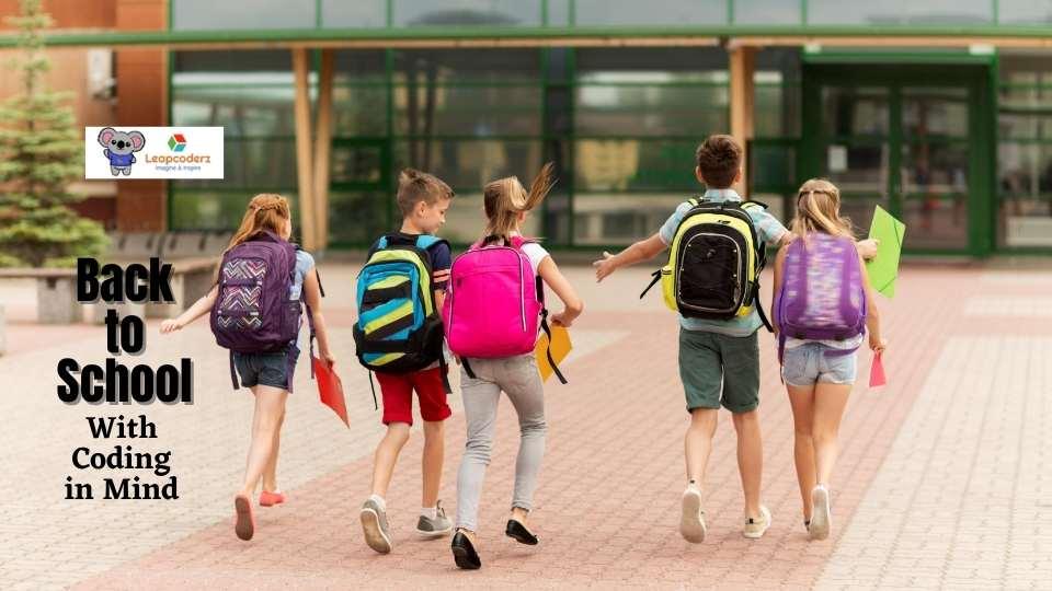 Coding kids back to school