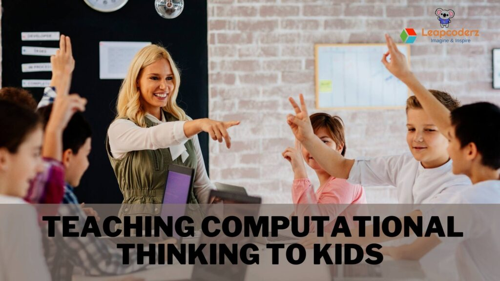 computational thinking in kids