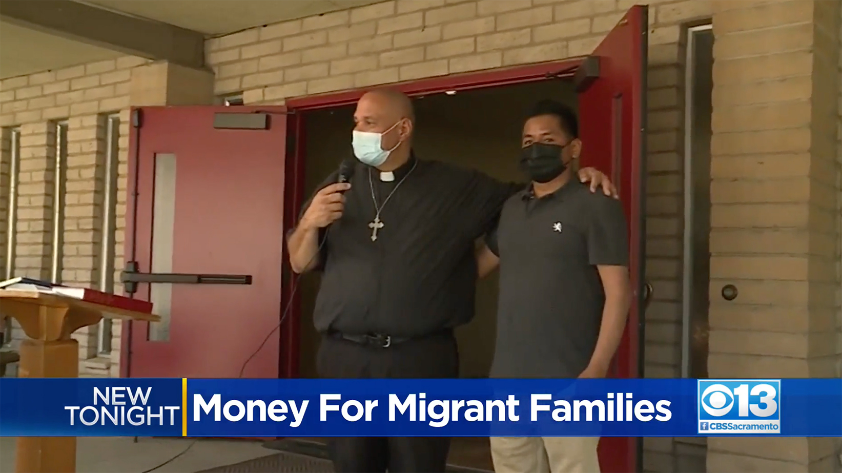 Faith Organizations Hand Out Checks To Help Migrant Families During Pandemic