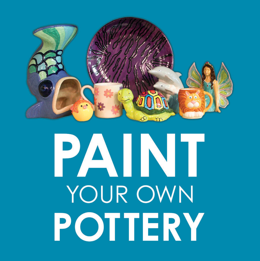 Get Fired Up Paint Your Own Pottery Studio Melbourne Florida