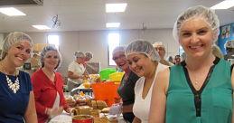 Car City Cares Supports Kids' Food Basket