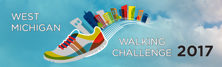 West Michigan Walking Challenge: Accepted!
