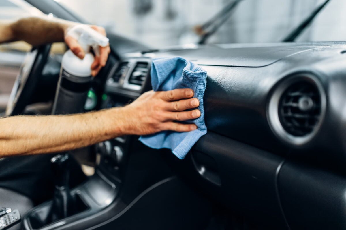Clean your used car this spring