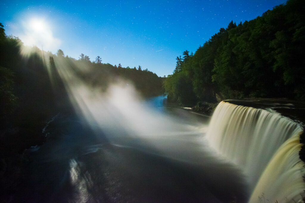 Tahquamenon Falls in the Upper Peninsula of Michigan. Car City has quality used vehicles for your summer road trip up north.
