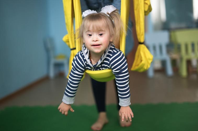 child with developmental disabilities