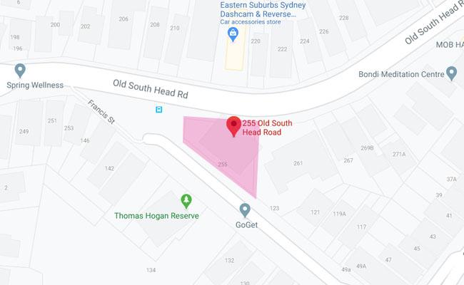 Active Kids Group   bondi location map  