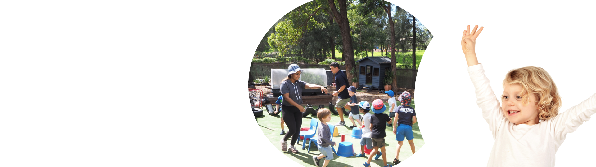 Active Kids Group | Learn and Grow Banner |