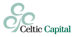 Celtic Capital logo an an illustration of a tree made up of circles