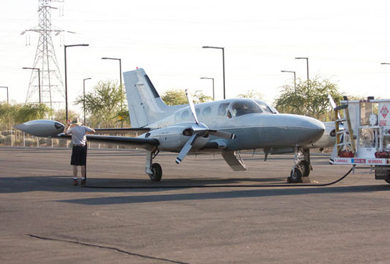 Why Glendale? Refuel your corporate jet at Glendale Aero Services