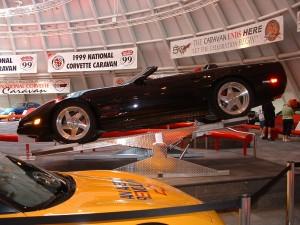 #1 ZR-1 Concept Car Spyder atop 1st RAMPBOSS sold in USA