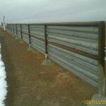 Windbreak and divider and blinder and fence all in one. Goes up quick. Lasts for a LONG, LONG time.