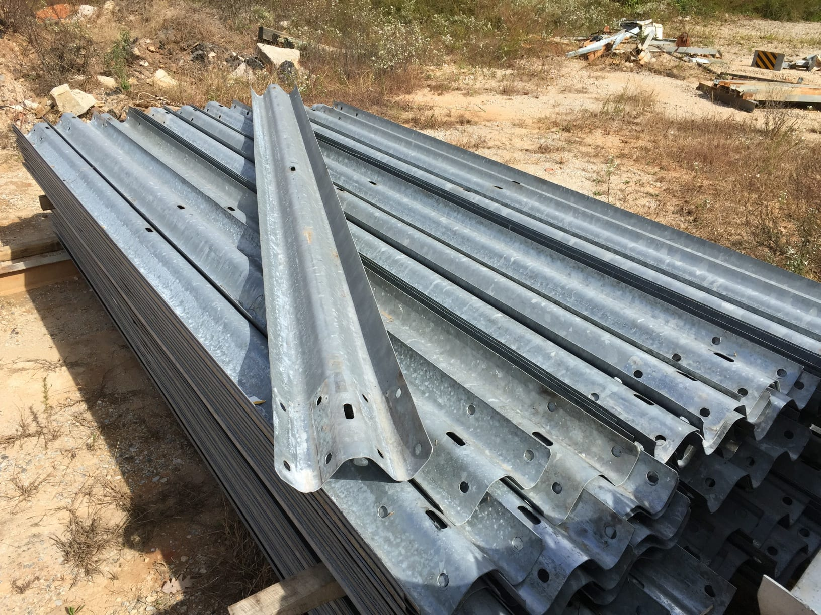 Used Guardrail for sale with post