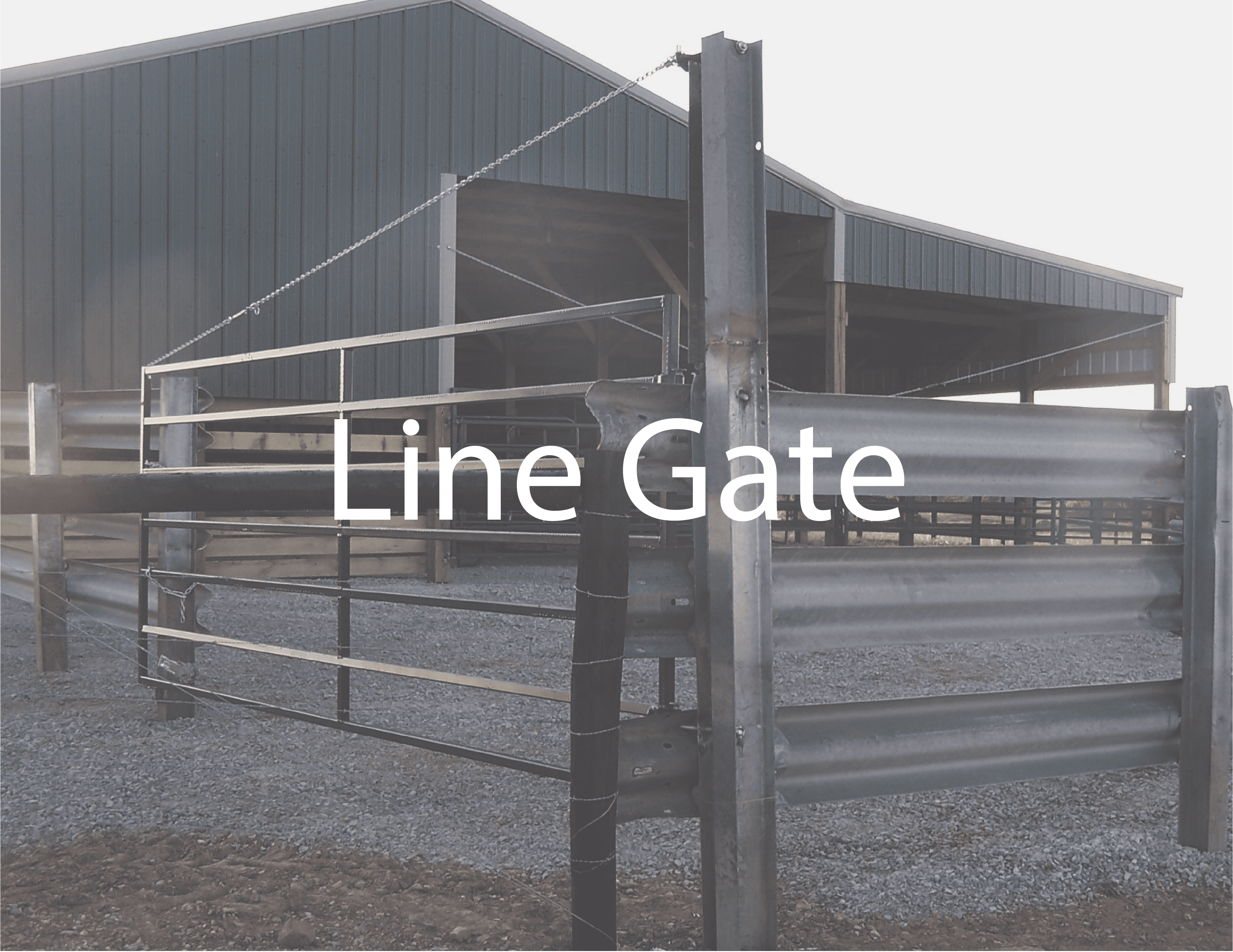I-Beam Post are the best option for Guardrail Corrals and Feed Lots