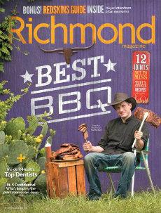 Richmond Magazine BBQ Cover 2